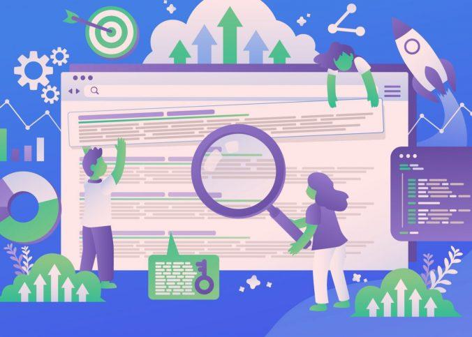 Ilustração das pesquisas do Google | Por que meu site não aparece no Google?
