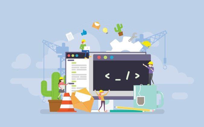 Ilustração dos elementos que um site precisa ter | O que um site precisa ter? - Superbiz